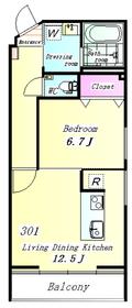 THE WOOD(デザイナーズマンション) 301号室
