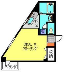 アグリファームズ3階Fの間取り画像