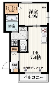 メゾン KS 加美平2階Fの間取り画像