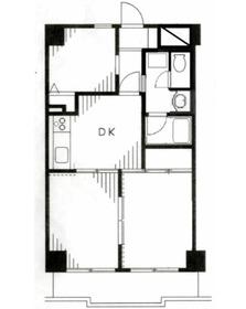 エクセルコート4階Fの間取り画像