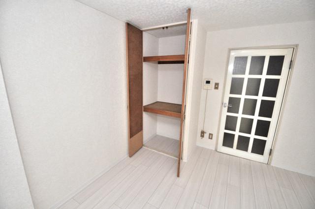 あかねハイツ もちろん収納スペースも確保。いたれりつくせりのお部屋です。