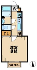 本厚木駅 バス20分「子中」徒歩6分1階Fの間取り画像