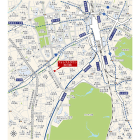 フォレストタウン参宮橋案内図