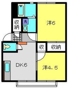 日吉駅 徒歩15分1階Fの間取り画像