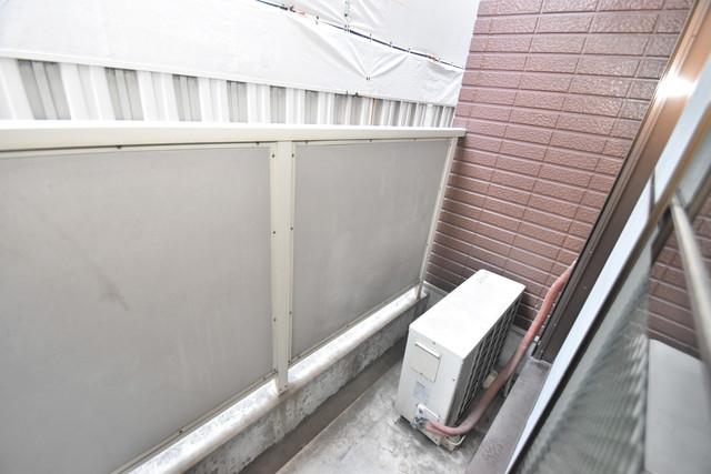 ポプルスONE 心地よい風が吹くバルコニー。洗濯物もよく乾きそうです。