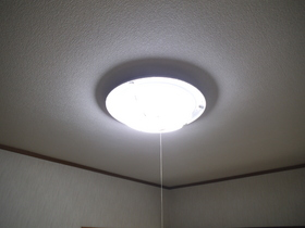 居室照明付いてます。