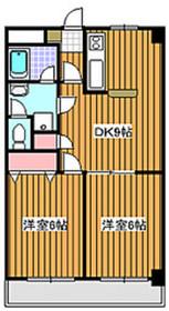 下赤塚駅 徒歩10分5階Fの間取り画像