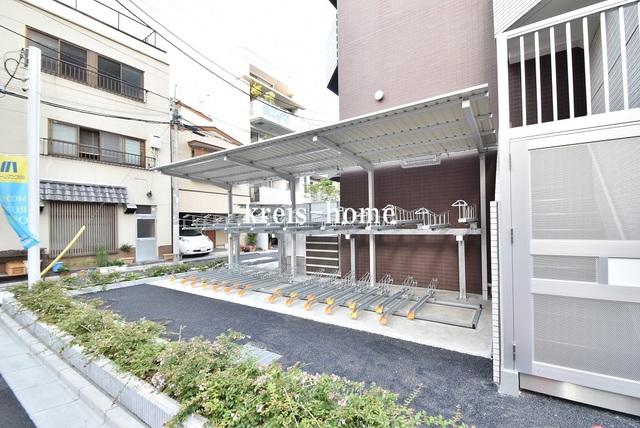 ステージグランデ早稲田駐車場