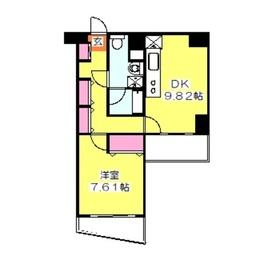 グランドゥール日吉4階Fの間取り画像