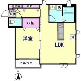 ソフィー萩中 201号室