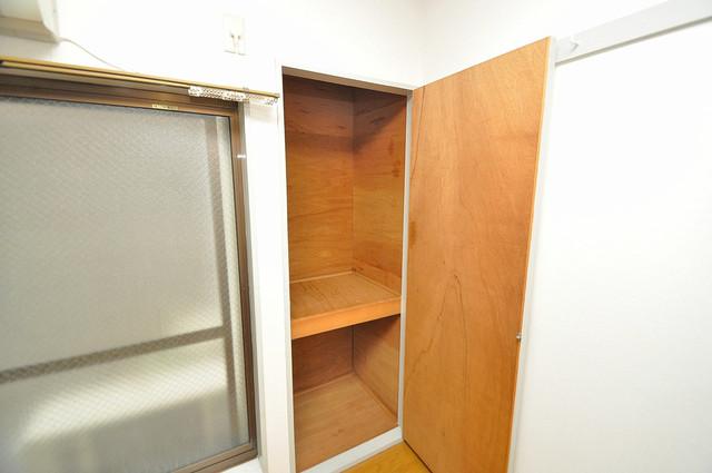 ジョイライフ永和 もちろん収納スペースも確保。いたれりつくせりのお部屋です。