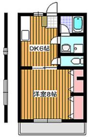 ラピュタ2階Fの間取り画像