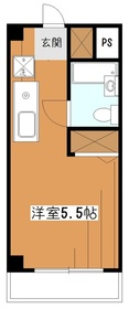 GMハウス3階Fの間取り画像