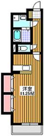 シュペリュール1階Fの間取り画像