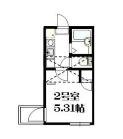 星川駅 徒歩13分1階Fの間取り画像
