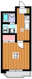ル・モンテ和光7階Fの間取り画像
