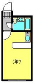 ベルピア弘明寺第11階Fの間取り画像