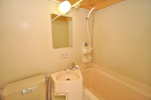 川田マンション 小さいですが洗面台ありますよ