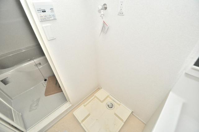 インペリアルライフ 嬉しい室内洗濯機置場。これで洗濯機も長持ちしますね。