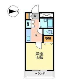 プレッソ・リーヴァ I2階Fの間取り画像