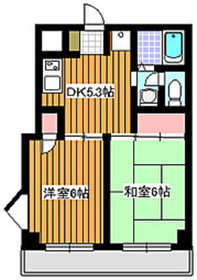 和光市駅 徒歩8分2階Fの間取り画像