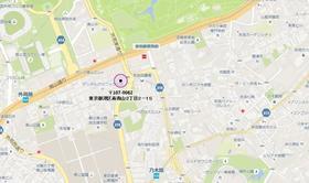 信濃町駅 徒歩15分案内図