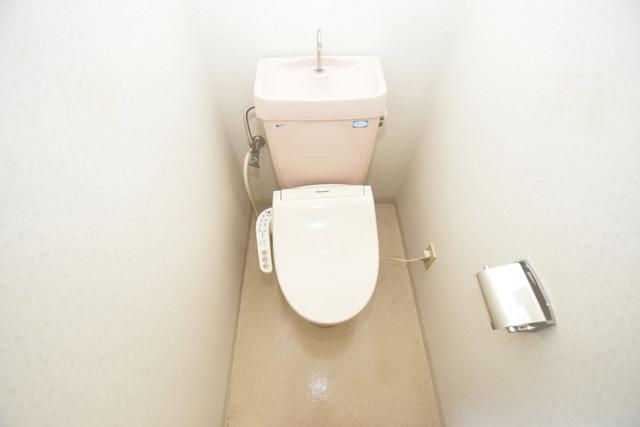 ブルーメンハウス スタンダードなトイレは清潔感があって、リラックス出来ます。