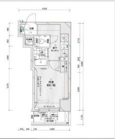 スパシエ横浜吉野町ステーションプラザ2階Fの間取り画像