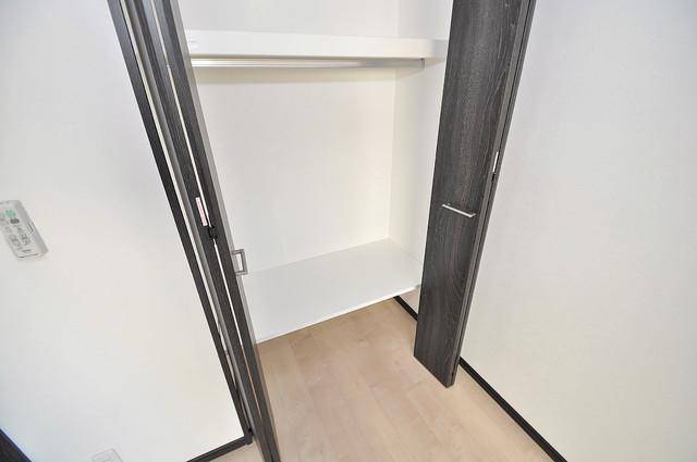 プレシオ小阪 もちろん収納スペースも確保。お部屋がスッキリ片付きますね。