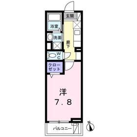 サンヴェルド3階Fの間取り画像