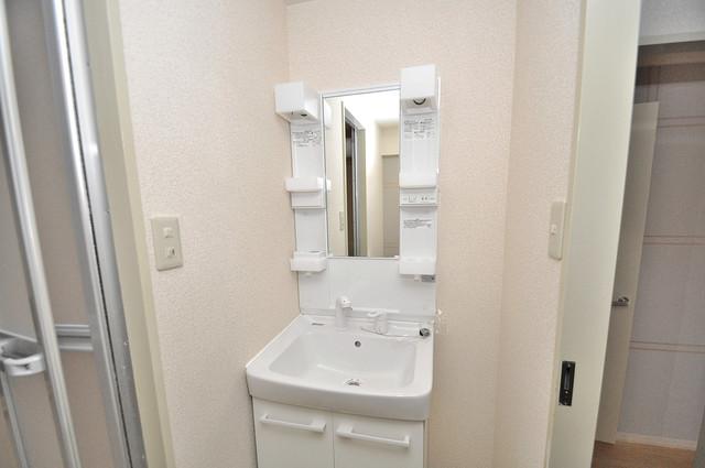 カーサノベンタ 豪華な洗面台はもちろんシャンプードレッサー完備です。