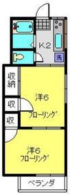 京急富岡駅 徒歩13分2階Fの間取り画像