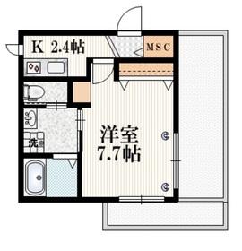 Comfort Senkawa3階Fの間取り画像
