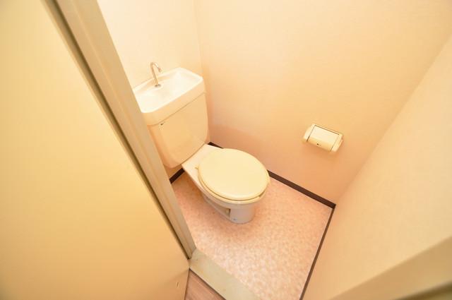 すみれプラザ長堂 清潔感たっぷりのトイレです。入るとホッとする、そんな空間。