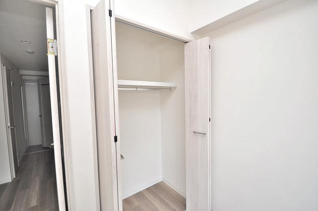 トレノーヴェ南巽 もちろん収納スペースも確保。いたれりつくせりのお部屋です。