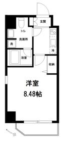 ドルチェ東京上十条4階Fの間取り画像