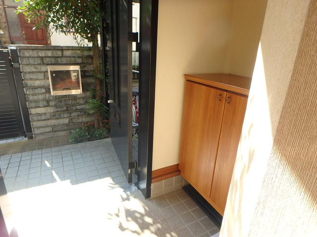 安藤邸玄関