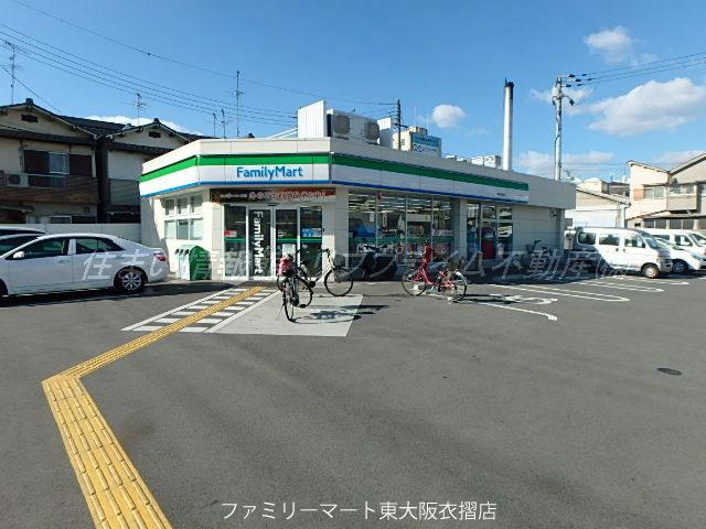 レオパレススズラン ファミリーマート東大阪衣摺店