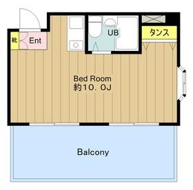 グランラパン4階Fの間取り画像