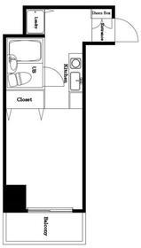港町駅 徒歩11分2階Fの間取り画像