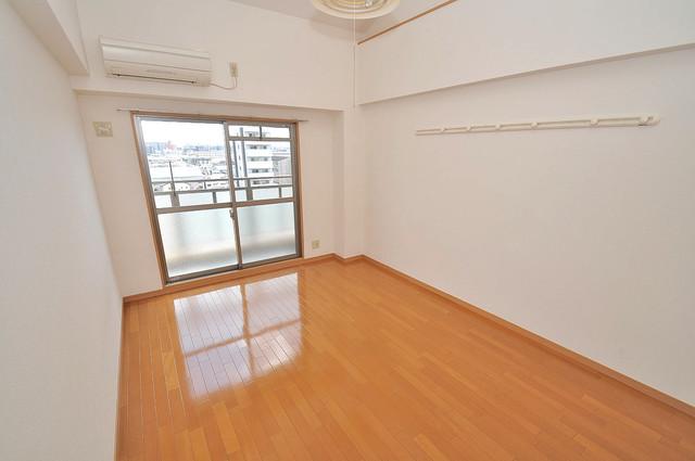 ロータリーマンション長田東 明るいお部屋は風通しも良く、心地よい気分になります。