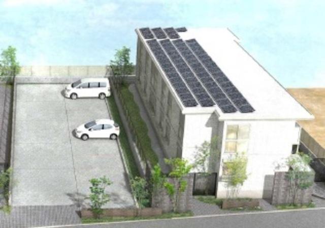 シェモア仙川壱番館駐車場