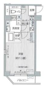 FIORE KOMAGOME3階Fの間取り画像