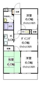 アステイオンⅡ2階Fの間取り画像