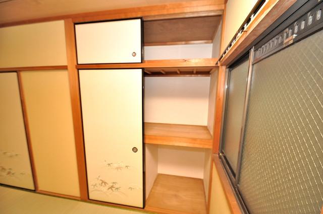 ビーフォレスト尼崎KANNAMI もちろん収納スペースも確保。お部屋がスッキリ片付きますね。