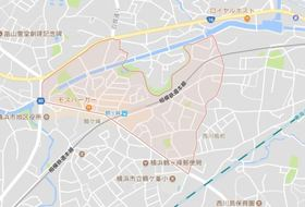 G・Aタウン鶴ヶ峰案内図