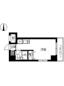 スカイコート西川口第84階Fの間取り画像