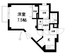 ハウスステュディオ1階Fの間取り画像