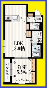 ひばりケ丘駅 徒歩7分3階Fの間取り画像