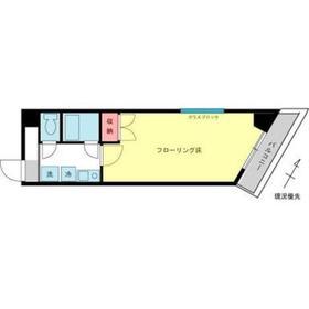 シロタビル3階Fの間取り画像
